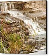 Waterfall Canvas Print by Kimberly  Maiden