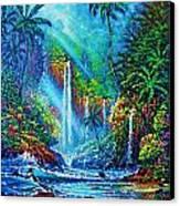 waterfall lV Canvas Print