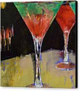 Watermelon Martini Canvas Print by Michael Creese