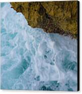Waters Edge At Waianae Canvas Print by Lisa Cortez