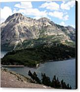 Waterton Lake Canvas Print by Carolyn Ardolino
