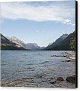 Waterton Lake Canvas Print by Kenneth Hadlock