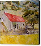 Waterval Farm Canvas Print by David  Hawkins