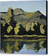 Watson Lake Canvas Print by Mary Giacomini