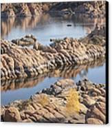 Watson Lake Canvas Print by Ray Short
