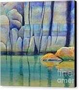 Watson Rocks Canvas Print by Robert Hooper