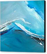 Wave Action Canvas Print by Michelle Wiarda