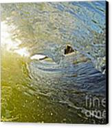 Wave Cave Canvas Print by Paul Topp