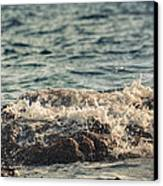 Waves In Time IIi Canvas Print