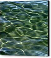 Waves On Lake Tahoe Canvas Print