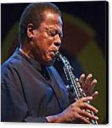Wayne Shorter Plays Canvas Print by Craig Lovell