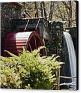 Wayside Grist Mill 3 Canvas Print by Dennis Coates