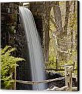 Wayside Grist Mill 7 Canvas Print by Dennis Coates