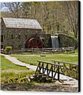 Wayside Grist Mill 8 Canvas Print