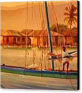 We Be Sailing Canvas Print by Sue  Darius