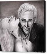 James Canvas Print by Rosalinda Markle