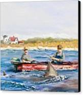 We Need A Biggah Boat Canvas Print