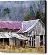 Weathered Barn Canvas Print