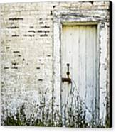 Weathered Door Canvas Print by Diane Diederich