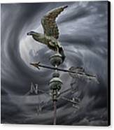 Weathervane Canvas Print by Steven  Michael