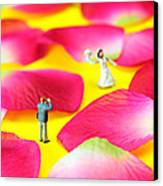 Wedding Photography Little People Big Worlds Canvas Print