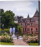 Wedding Setting In De Haar Castle. Utrecht Canvas Print by Jenny Rainbow