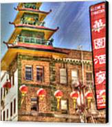 Welcome To Chinatown Canvas Print by Juli Scalzi