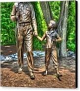 Welcome To Mayberry Canvas Print by Dan Stone