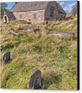 Welsh Tombs Canvas Print
