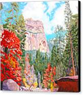 West Fork - Sedona Canvas Print by Steve Simon