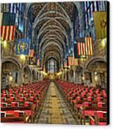 West Point Cadet Chapel Canvas Print by Dan McManus