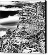 Western View Canvas Print by John Rizzuto