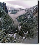 Western Yosemite Valley Canvas Print by Bill Gallagher