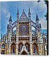 Westminster Abbey - North Transept Canvas Print by Skye Ryan-Evans