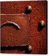 Wet Rust Canvas Print by Bob Orsillo