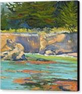 Whalers Cove Point Lobos Canvas Print by Rhett Regina Owings