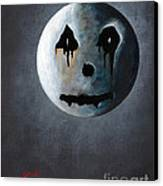 What It's Like Without You - Gothic By Shawna Erback Canvas Print by Shawna Erback
