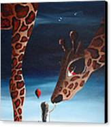 What Matters Most By Shawna Erback Canvas Print by Shawna Erback