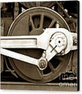 Wheel Power Canvas Print by Olivier Le Queinec