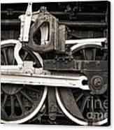 Wheels And Rods Canvas Print