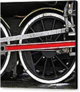 Wheels Of The Kingston Flyer Canvas Print by Joe Bonita