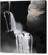 When Darkness Falls Canvas Print