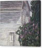 When Lilacs Last... Canvas Print