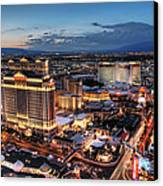 When Vegas Comes To Life Canvas Print
