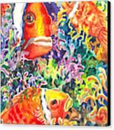 Where's Nemo I Canvas Print by Ann  Nicholson