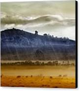 Whisps Of Velvet Rains... Canvas Print