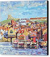 Whitby Canvas Print by Martin Decent