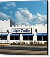 White Castle Canvas Print by Bruce Lennon