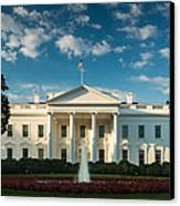 White House Sunrise Canvas Print by Steve Gadomski