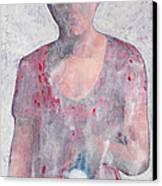 White Torch Canvas Print